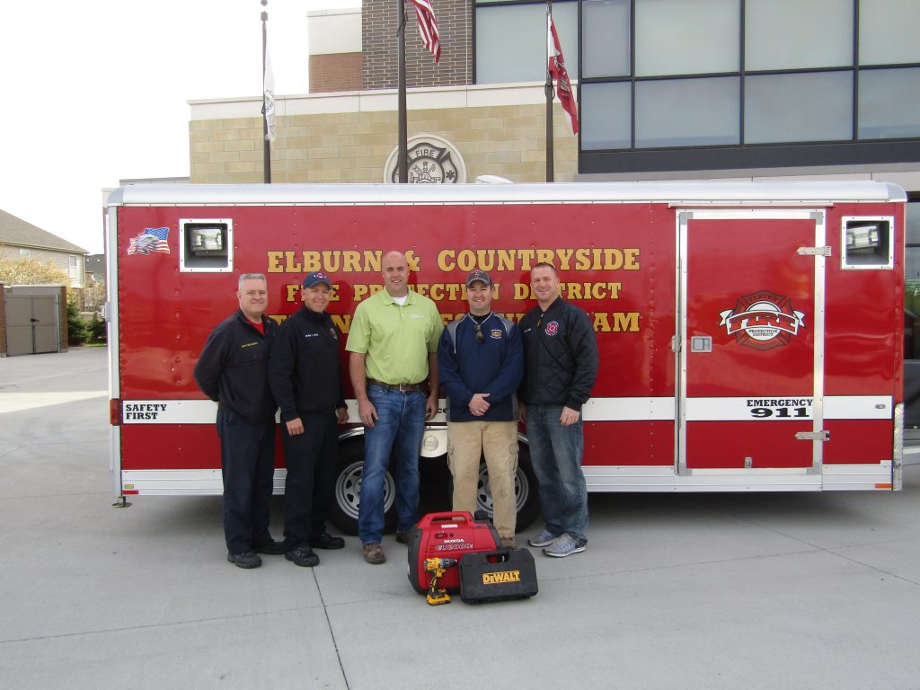 fire department donation photo