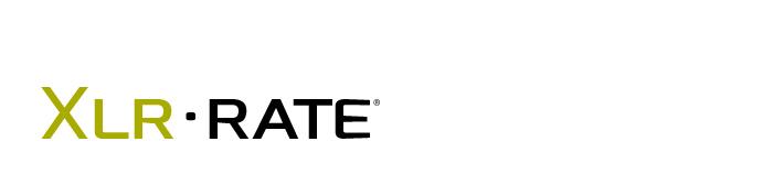 XLRrate logo